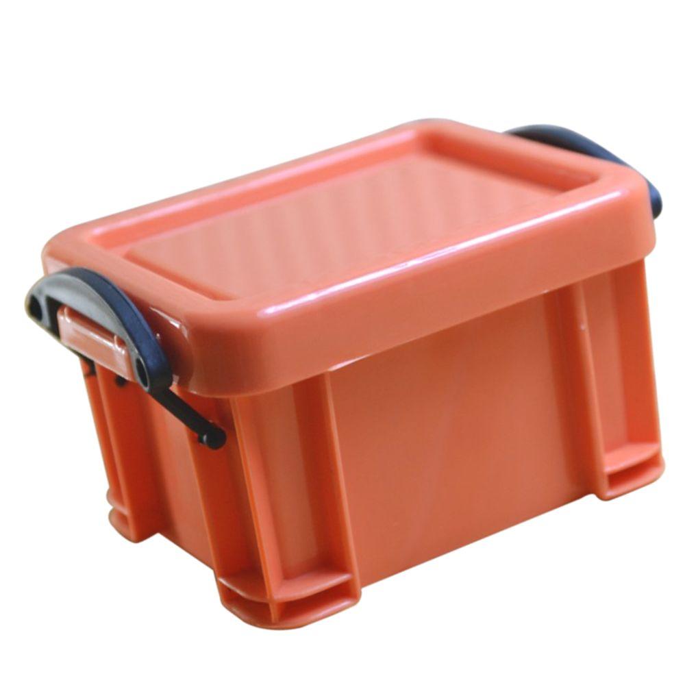 Marque Generique Mini Boite De Rangement Super Mignon Organisateur De Boites De Rangement Pour Bijoux Orange Boite De Rangement Rue Du Commerce