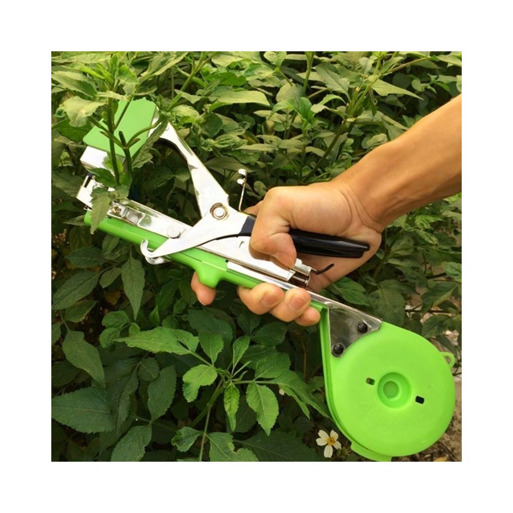 Wewoo Outil de jardinage de bande de l'agriculture main attachant la machine de jardin d'outil de de de tapener de de d'adhési