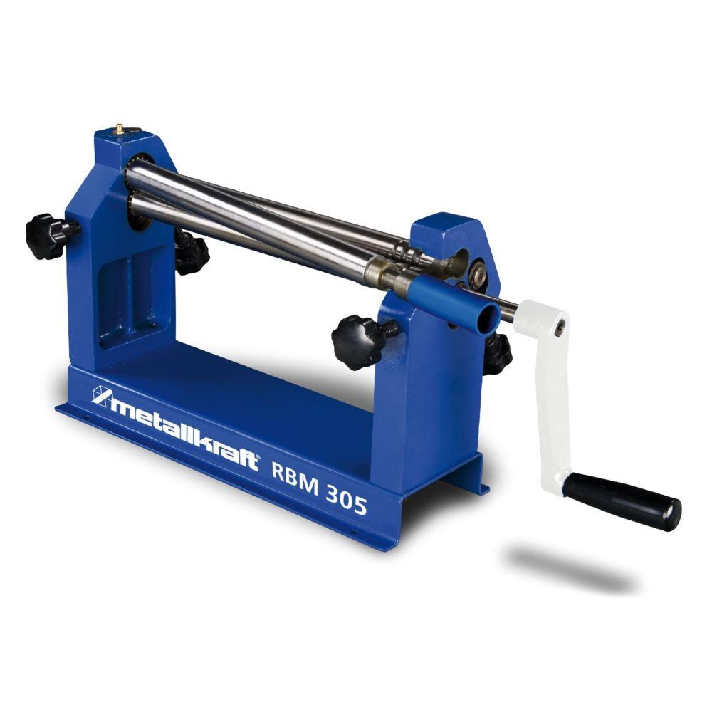 Metallkraft Rouleuse de tôles manuelle d'établi 3 rouleaux 305 mm Metallkraft RBM305