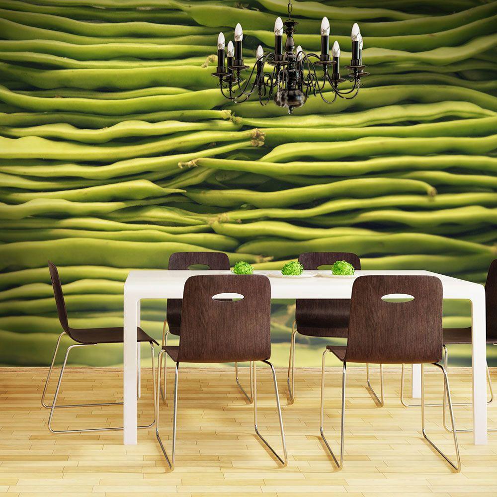 Bimago Papier peint   Haricots verts   400x309   Motifs de cuisine  