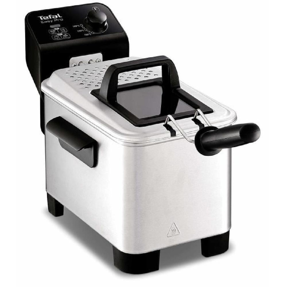 Tefal Tefal fr3330 - Friteuse easy pro 3l (Solo, acier inoxydable, stand-alone, vernis, rotatif)