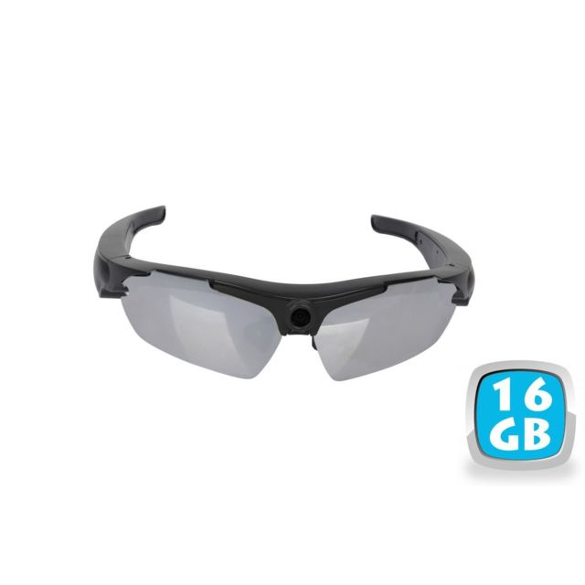 Yonis - Lunettes camera espion embarquée 16 go sport pro hd 720p micro sd appareil photo - YONIS - Yonis