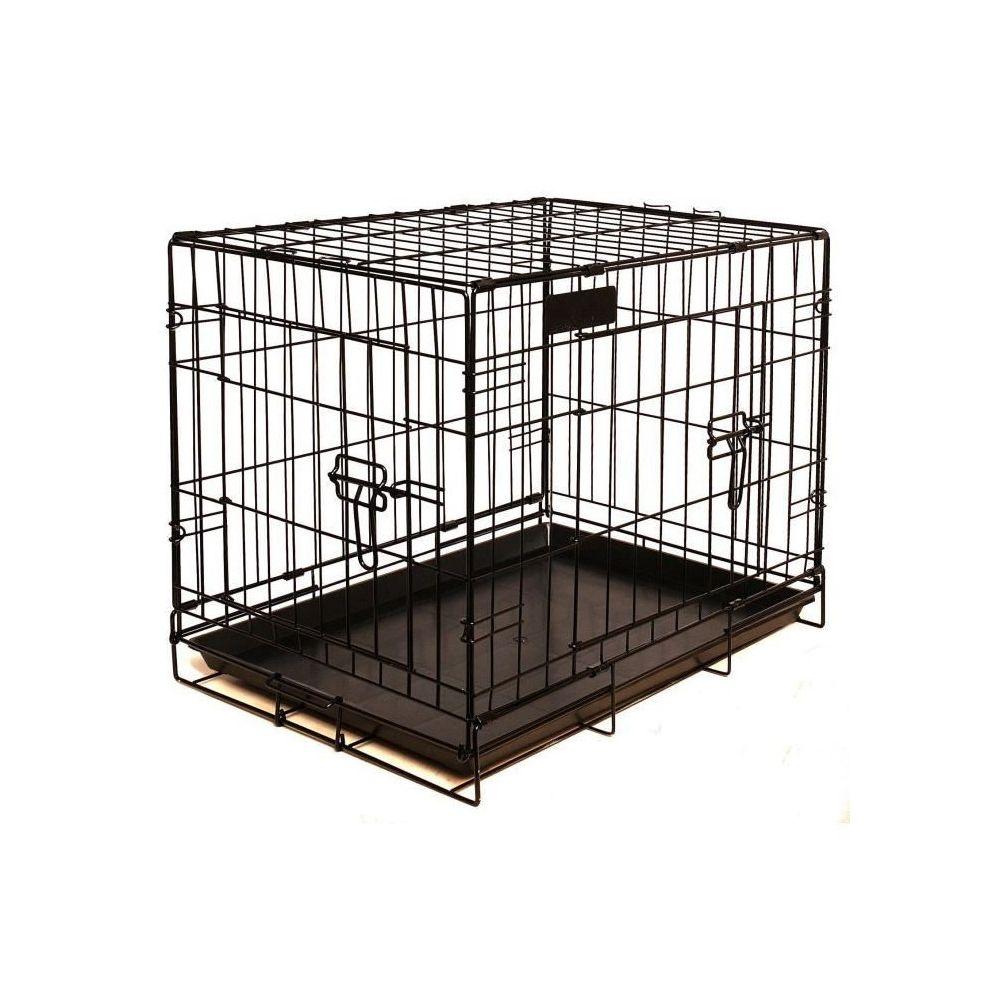 Riga RIGA Cage pour chien - Taille M - Noir - 79 cm
