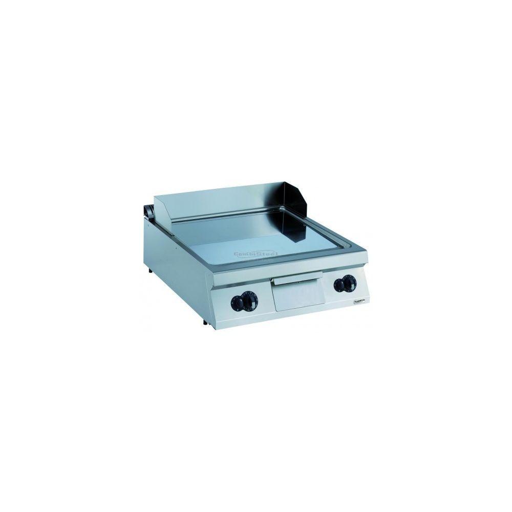 Combisteel Plancha à gaz chromée lisse - Série 900 - Combisteel - Chromé 900