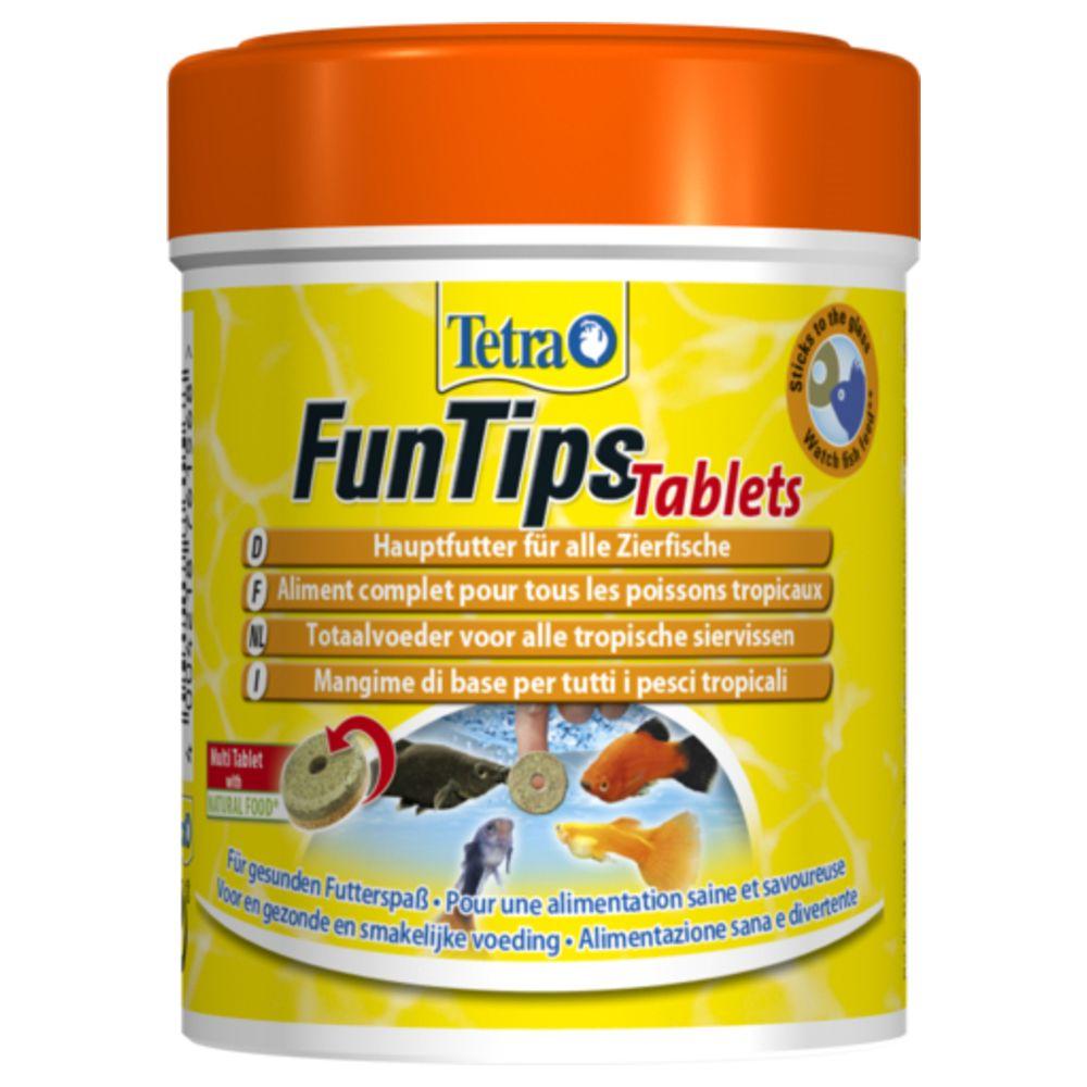 Tetra Aliment Complet FunTips Tablets de 165 Tablettes pour Poissons Tropicaux - Tetra