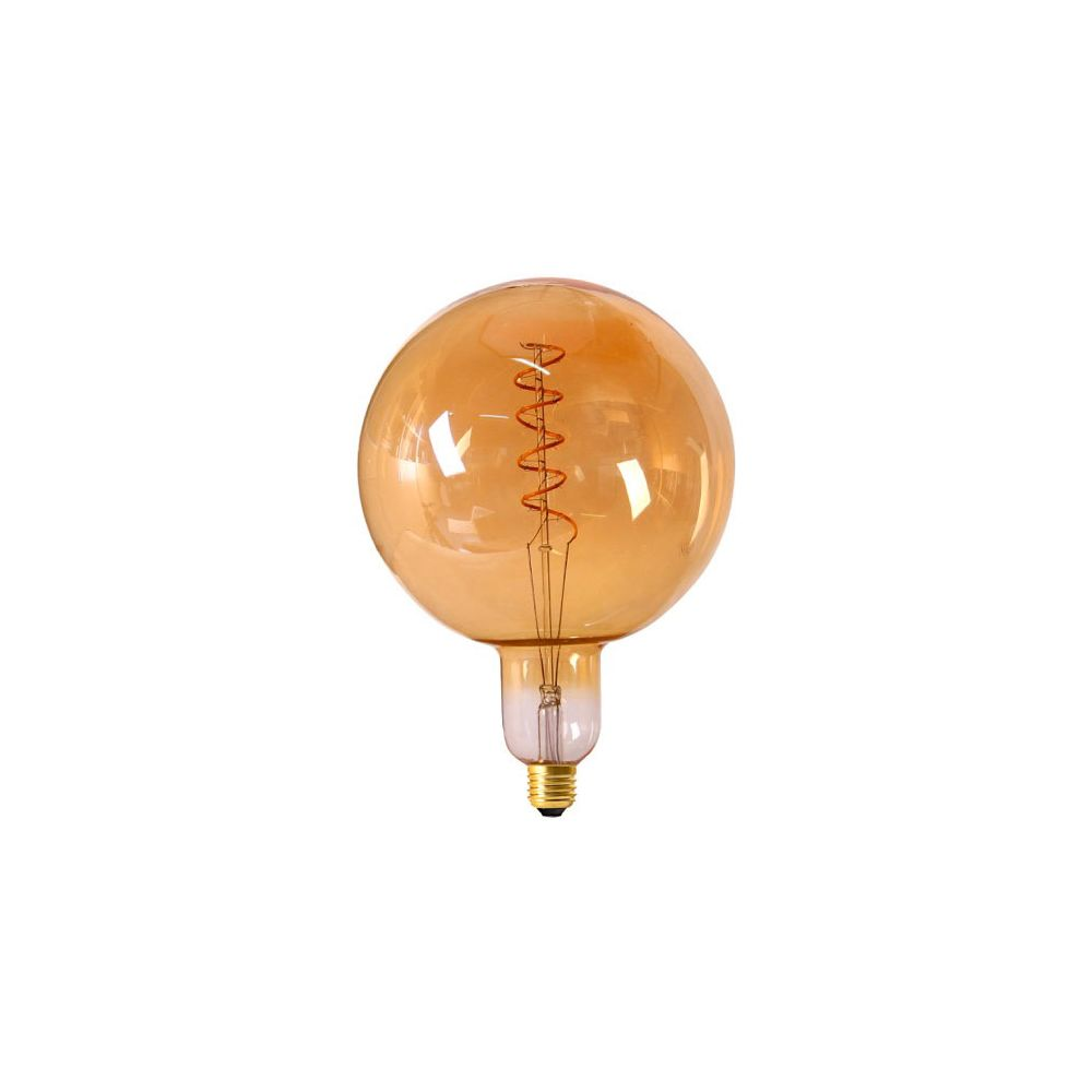 Girard Sudron Globe G200 Filament LED TWISTED 6W E27 2000K 300Lm Dim. Amb.