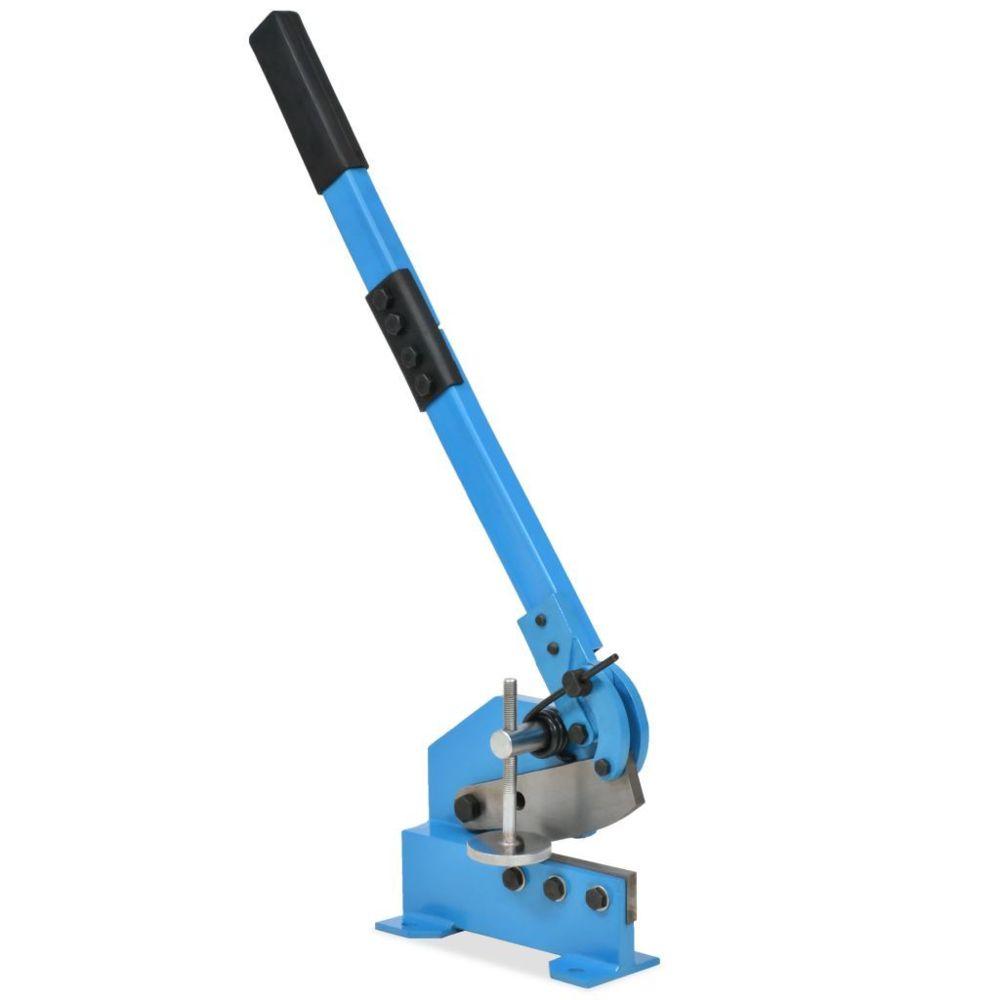 Vidaxl Cisaille à levier 125 mm Bleu - Outils - Outils de coupe - Coupe-barre |