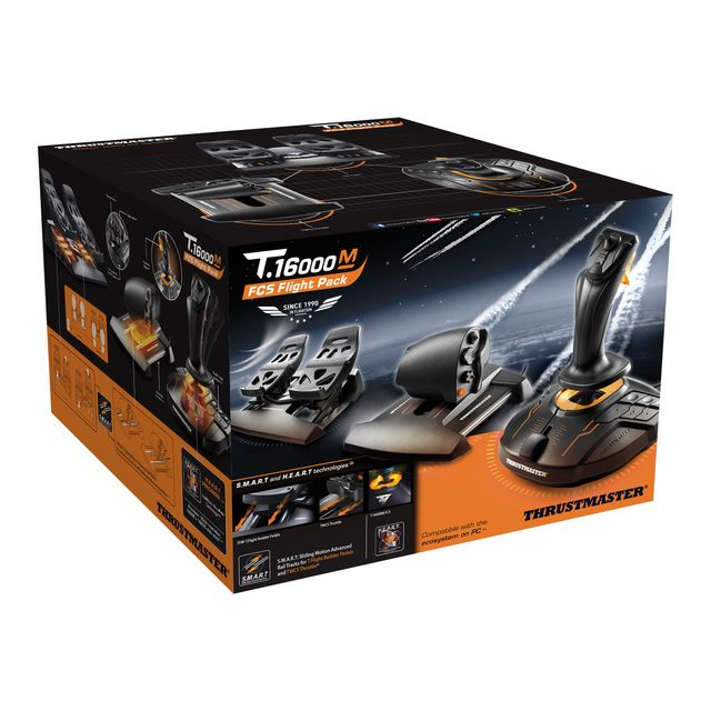 Thrustmaster - T.16000M FCS FLIGHT PACK Thrustmaster   - Accessoires Jeux PC
