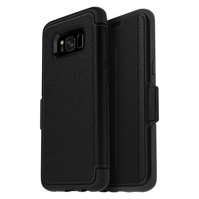 Otter Box - Galaxy S8 Plus Strada - Onyx black - Appcessoires