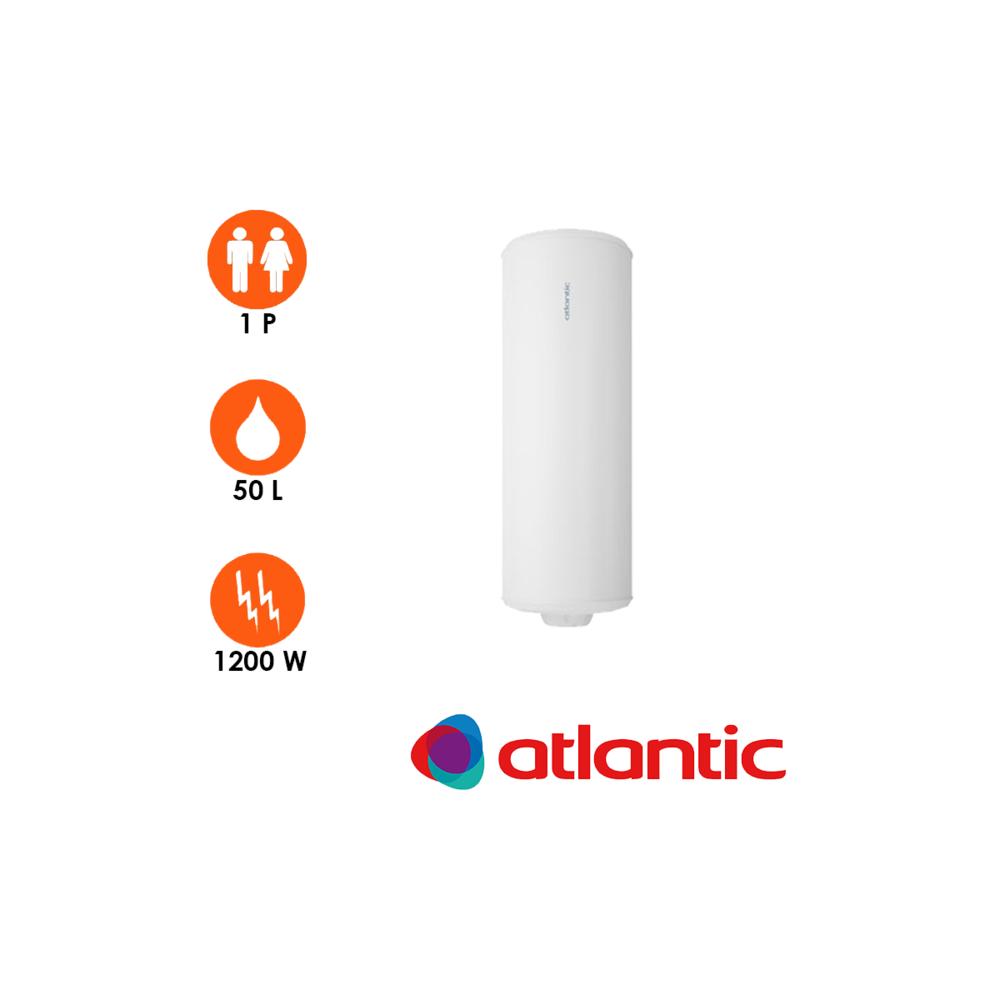 Atlantic Chauffe-eau chaufféo plus 50l vertical mural - atlantic
