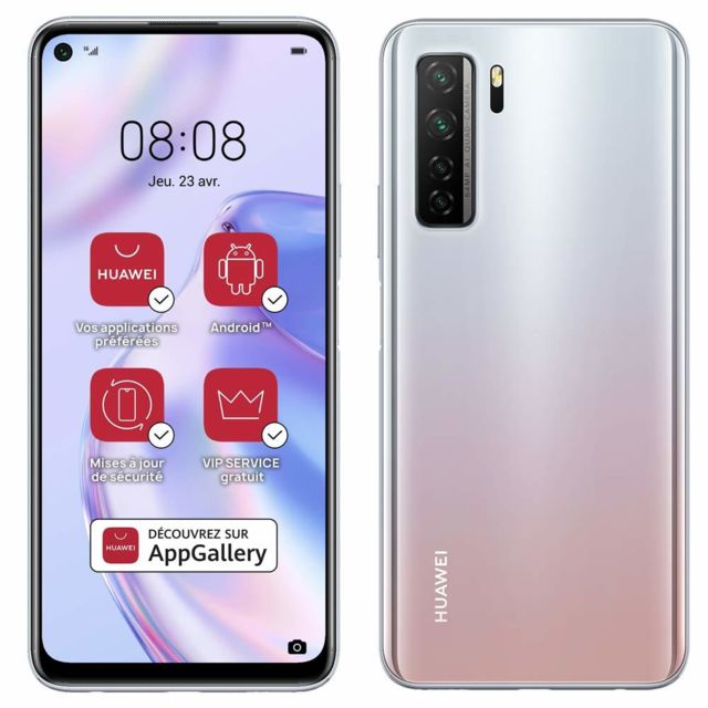 Huawei - P40 Lite 5G - Argent - Huawei reconditionné