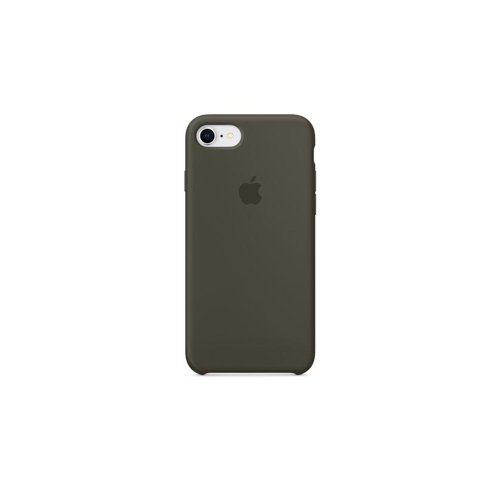 Apple - iPhone 8/7 Silicone Case - Olive sombre - Coque, étui ...