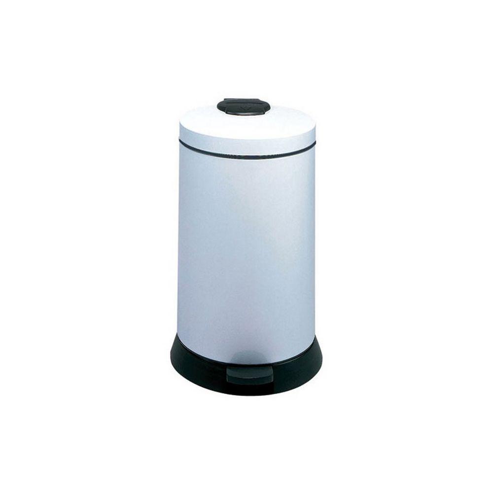Rossignol rossignol - poubelle à pédale 20l blanc - 92990