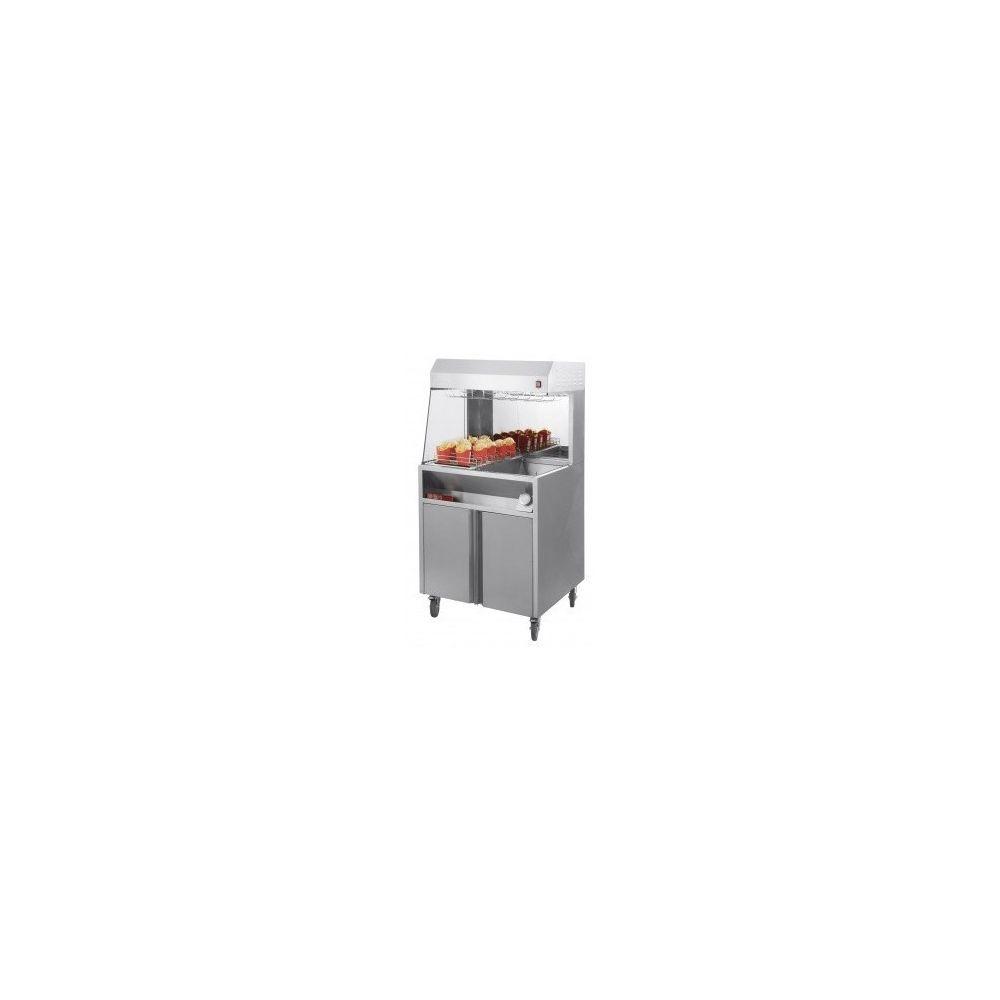 Casselin Chauffe-frites professionnel électrique sur roues - Casselin -