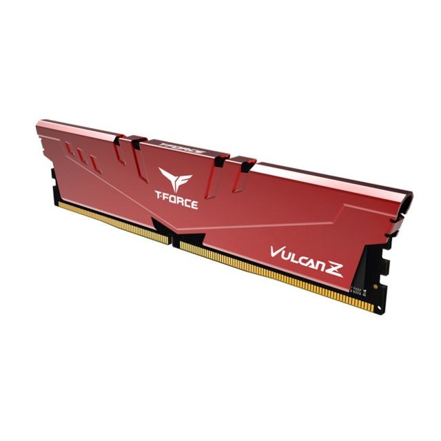 T-Force - Vulcan Z - 2 x 16 Go - DDR4 3600 MHz - Rouge - RAM PC