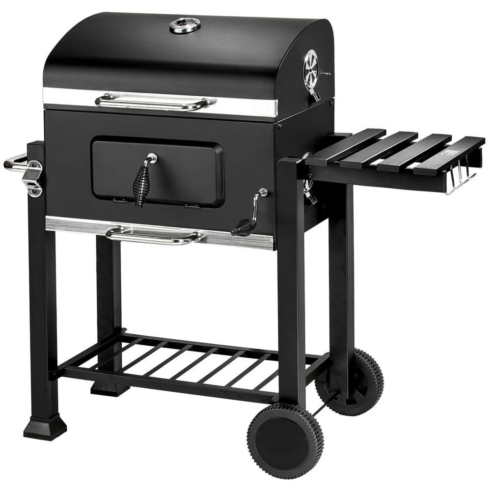 Tectake TecTake Barbecue charbon avec grille à hauteur réglable