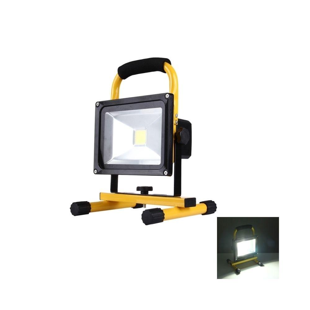 Wewoo Projecteur LED 20W 1800LM IP65 imperméable à l'eau Rechargeable lampe de poche portative, AC 100-250V lumière blanche