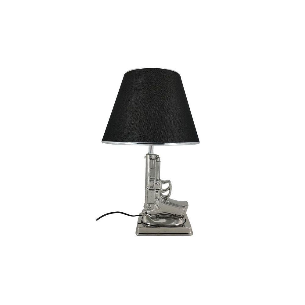 Chloe Design Lampe à poser SIARL - chrome