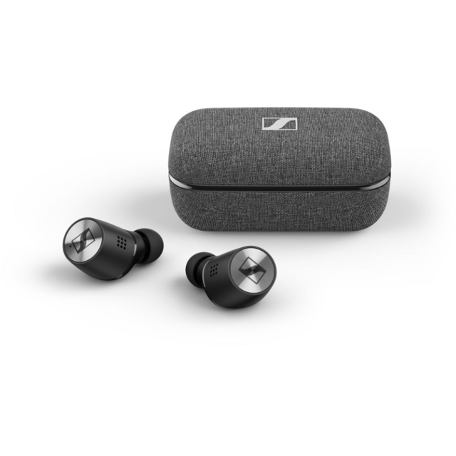 Sennheiser - Momentum True Wireless 2 - Noir - Ecouteurs True Wireless