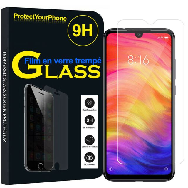 Cabling - CABLING® Verre Trempé Xiaomi Redmi Note 7 / Note 7 Pro, Protection écran Film Protection pour Redmi Note 7 / Note 7 Pro,[sans Bulle][9H dureté][Anti-Rayure][Coque Compatible] - Protection écran tablette