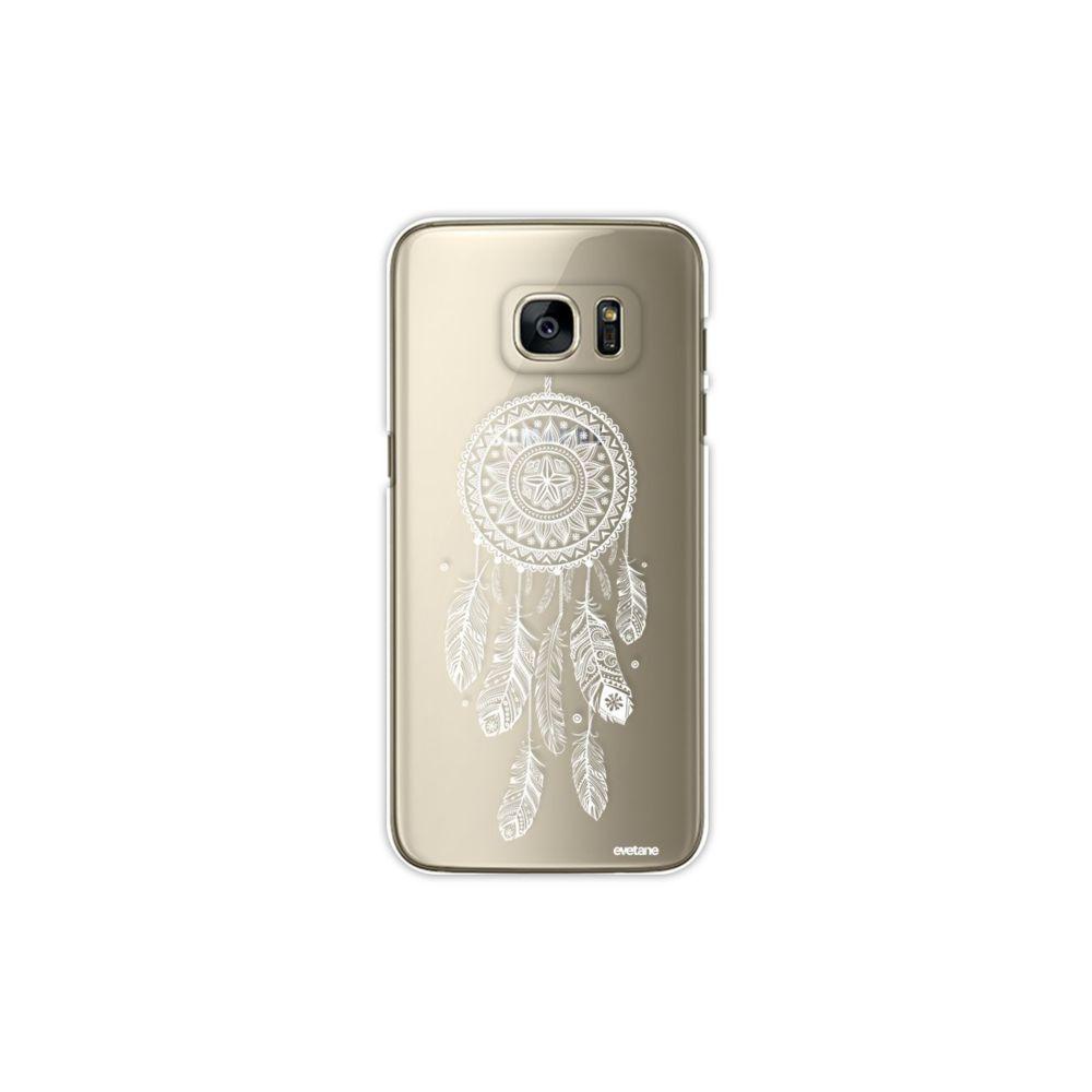 Evetane - Coque Samsung Galaxy S7 Edge rigide transparente Attrape ...