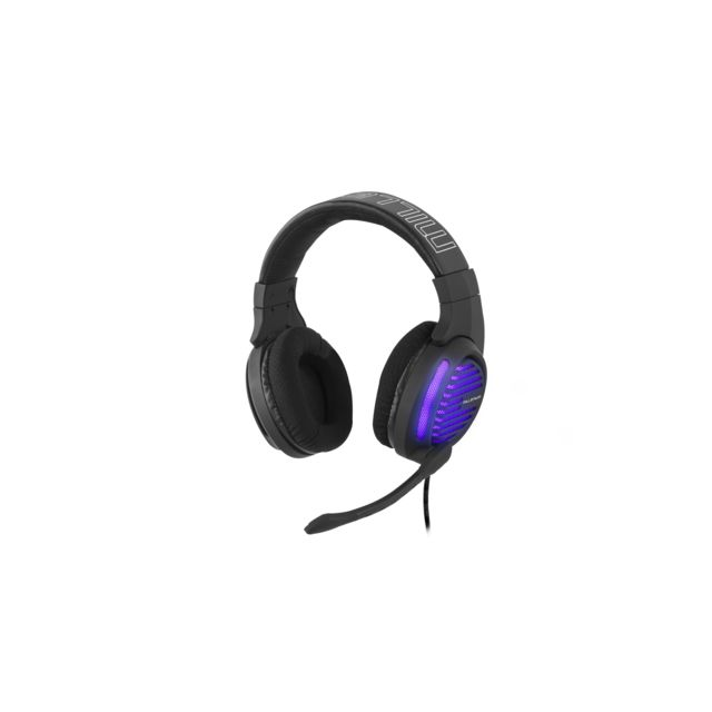 Millenium - MH2 Advanced - Casque gaming léger USB - Micro-Casque Circum auriculaire