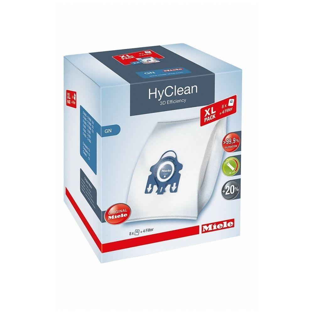 Miele Pack de 8 sacs aspirateur - GN XL HyClean 3D