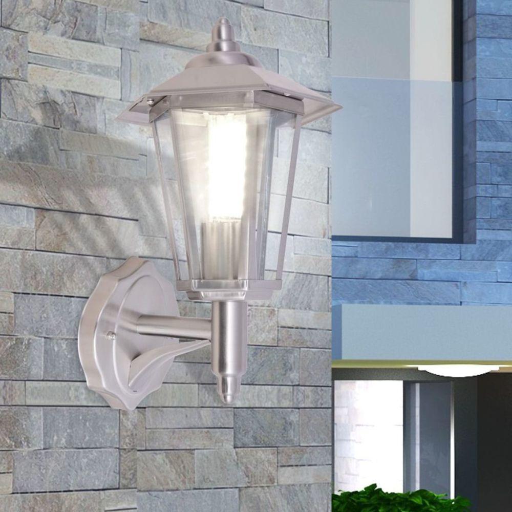 Vidaxl vidaXL Lampe murale extérieure Acier inoxydable