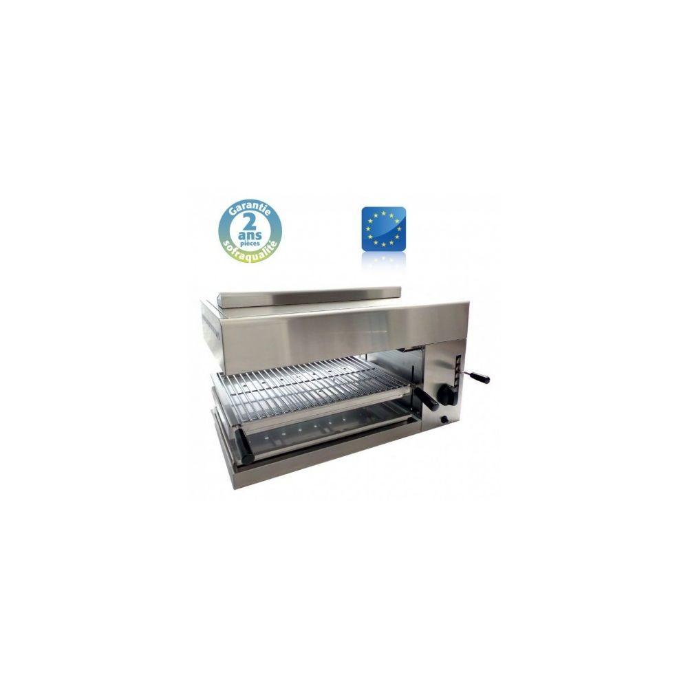Sofraca Salamandre Professionnel de Cuisine L75 - Gaz - Base mobile -