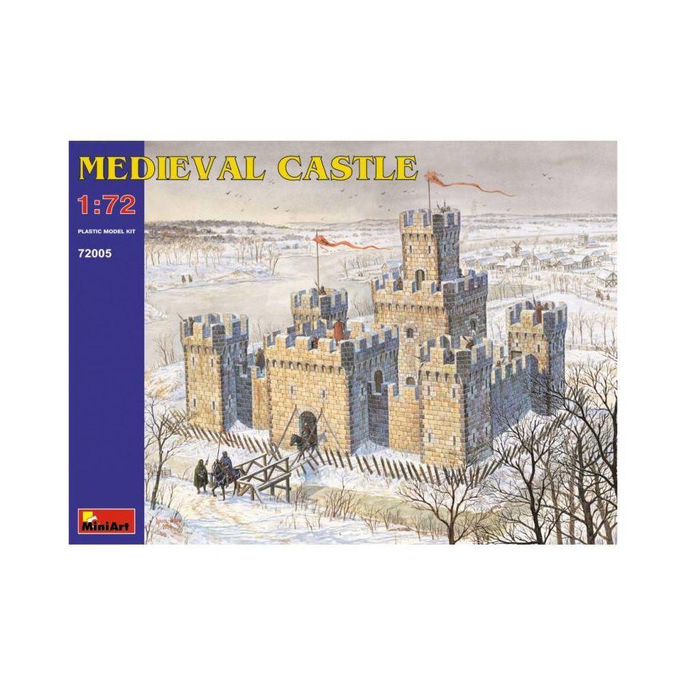 Mini Art Medieval Castle - Décor Modélisme