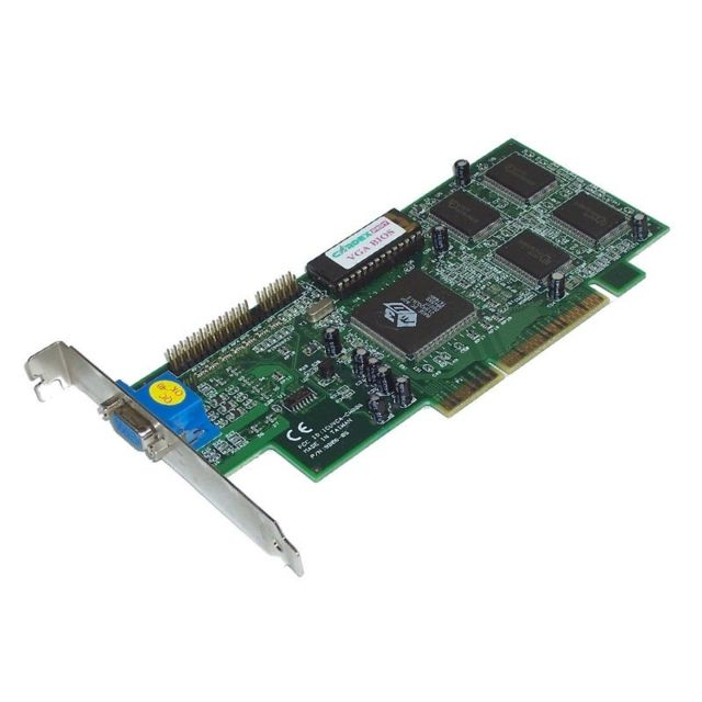 Ati - Carte Graphique Video ATI 3D Rage ICC ICUVGA-GW806 9806-05A 4MB AGP VGA - Occasions Carte Graphique