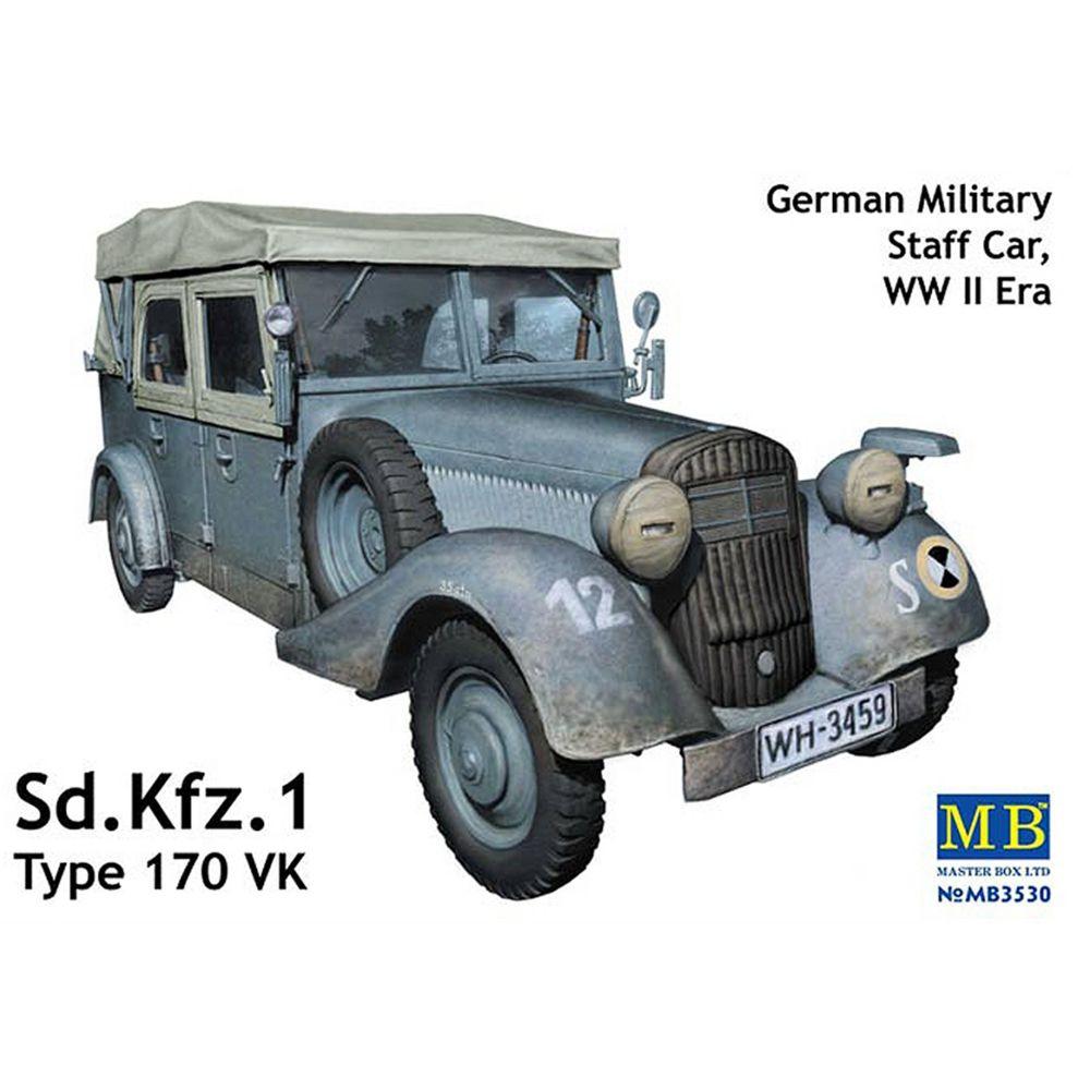Master Box Maquette véhicule d'Etat-Major allemand : Sd.Kfz.1 Type 170 VK