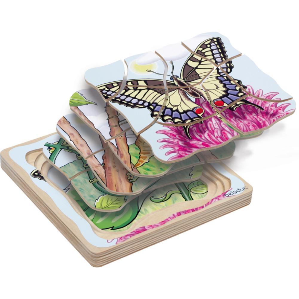 Beleduc Beleduc Puzzle papillon 17054