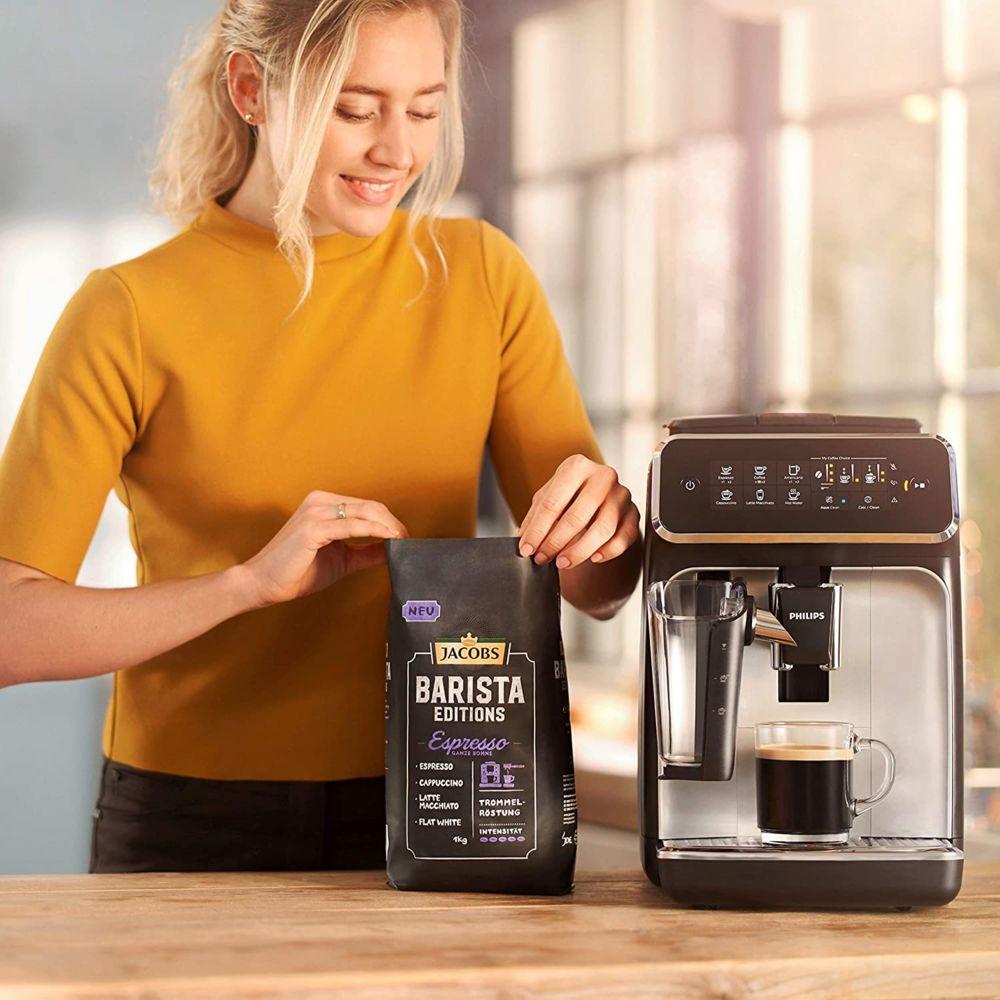 Philips Machine à Café Automatique Expresso de 1,8L 1500W noir gris