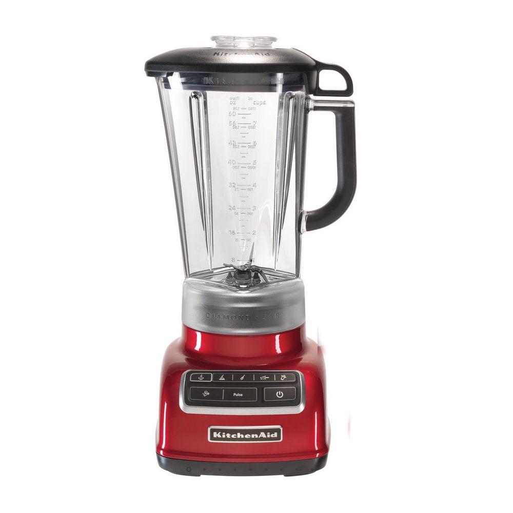 Kitchenaid kitchenaid - blender/mixeur diamond 1.75l 615w pomme d'amour - 5ksb1585eca