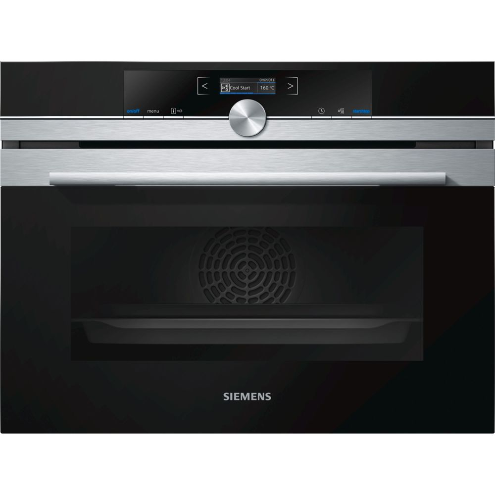 Siemens siemens - four intégrable compact 47l a+ pyrolyse inox - cb675gbs3