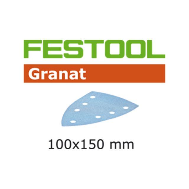 Festool - Lot de 100 abrasifs stickfix 100x150mm pour enduits,apprêts,laques,peintures en COV ...