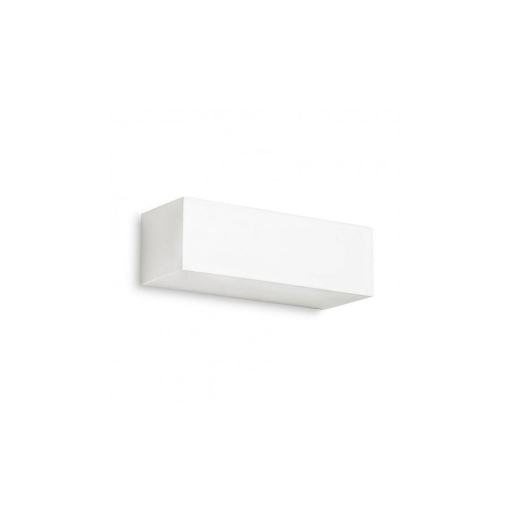 Leds C4 Applique Ges, Plâtre blanc, 22 cm