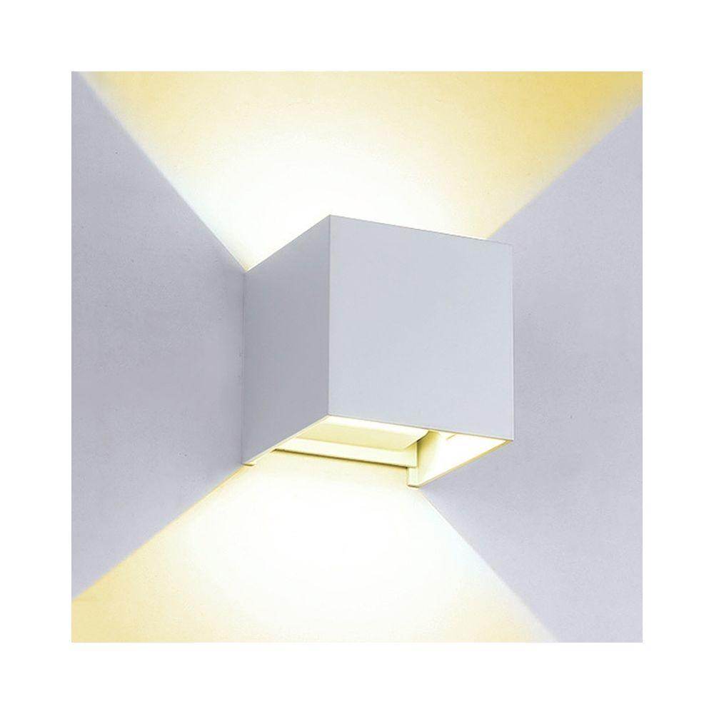 Yonis Applique Murale LED Lumière de Mur 480 Lumens Puissance 6W Lumière Jaune Blanc - YONIS
