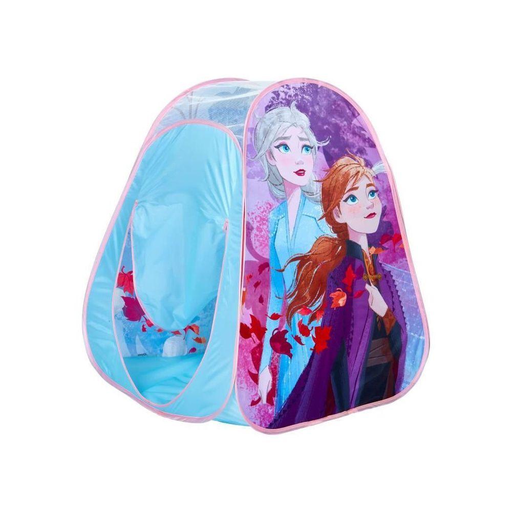 Disney DISNEY FROZEN Tente de jeu pop-up La Reine des Neiges - Jeu coloré - Bleu