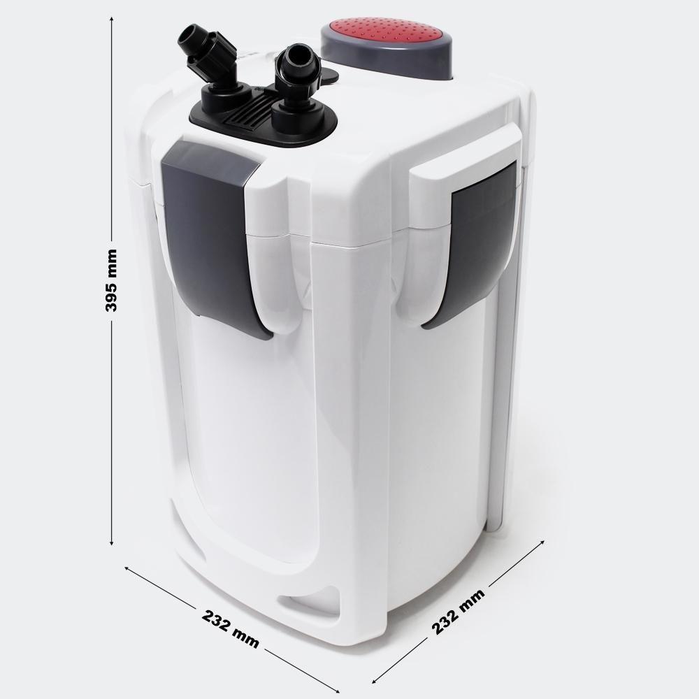 Helloshop26 Pompe filtre aquarium bio extérieur 1 000 litres par heure 15W 4216314