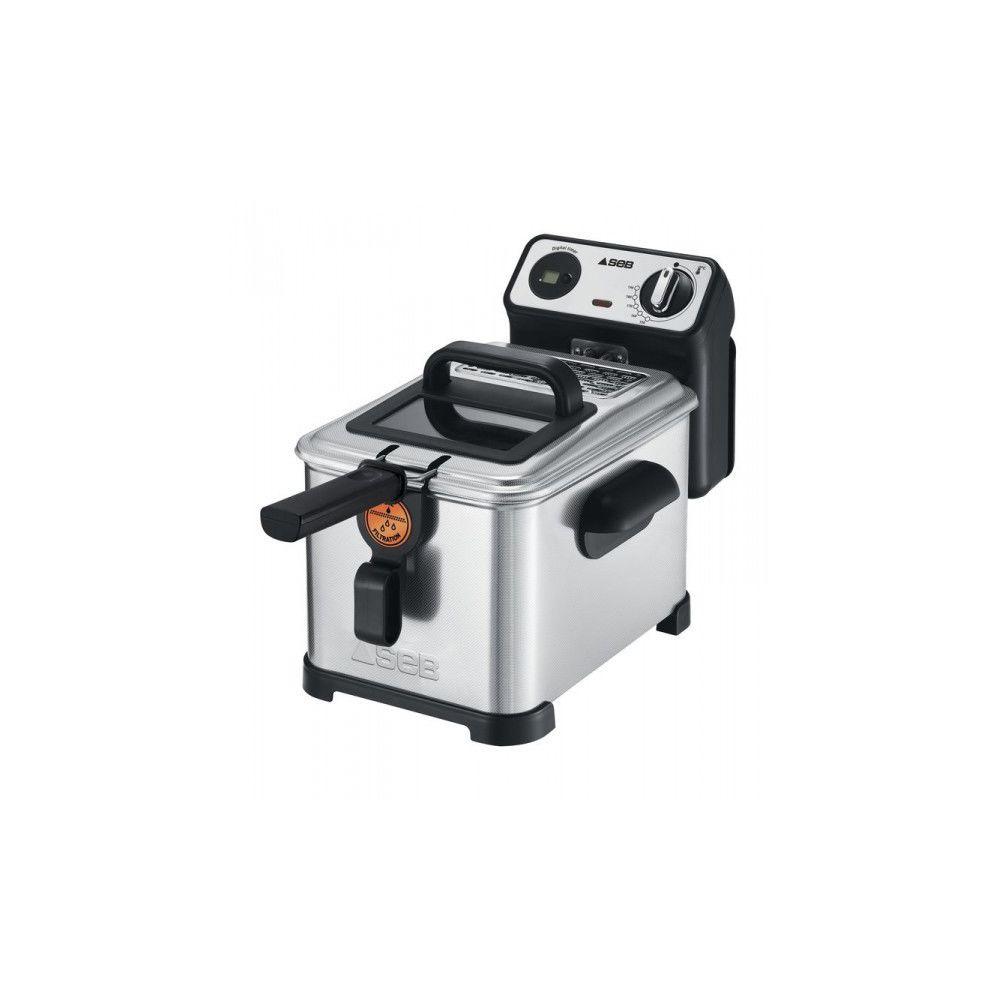 Seb SEB Friteuse Filtra Pro 4 Litres Inox FR518100