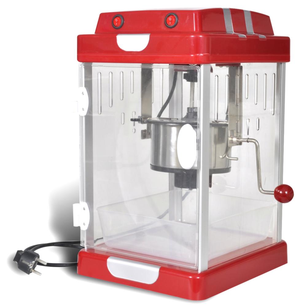 Vidaxl vidaXL Machine à pop corn professionnelle 2,5 Onces