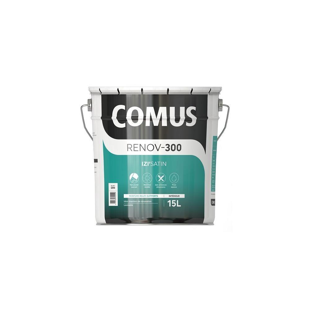 Comus IZI'SATIN 15L - Peinture acrylique d'aspect satin en phase aqueuse - COMUS