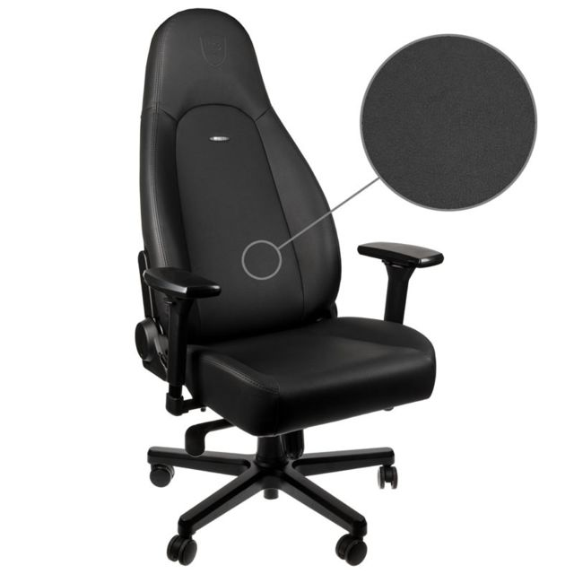 Noblechairs - ICON - Black Edition - Chaise gamer