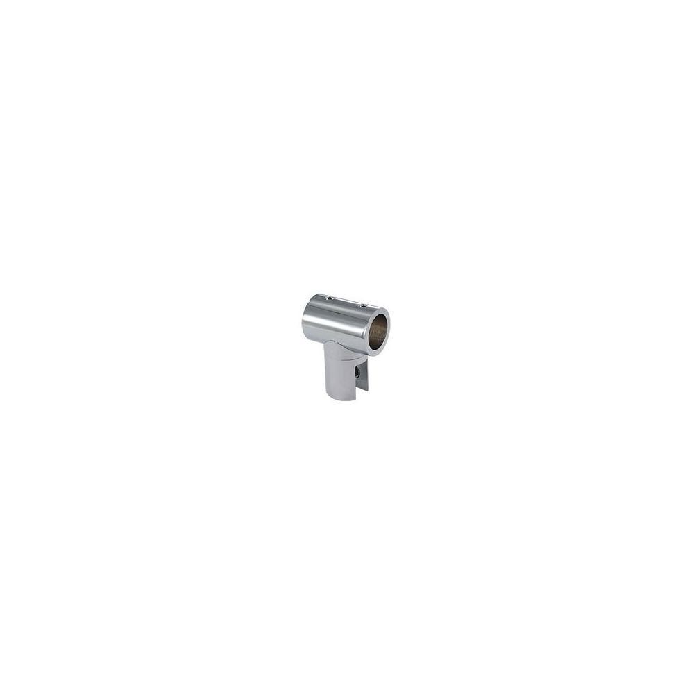 Adler Pince intermédiaire orientable 180° - Décor : Chromé - Matériau : Laiton - Pour tube de diamètre : 19 mm - ADLER