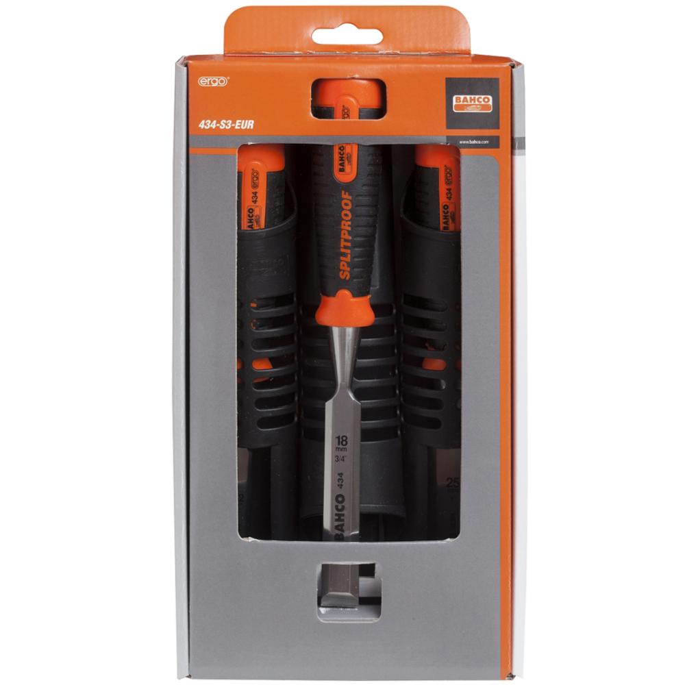 Bahco BAHCO Set de ciseaux ergonomiques 12-25 mm Bahco 434-S3-EUR
