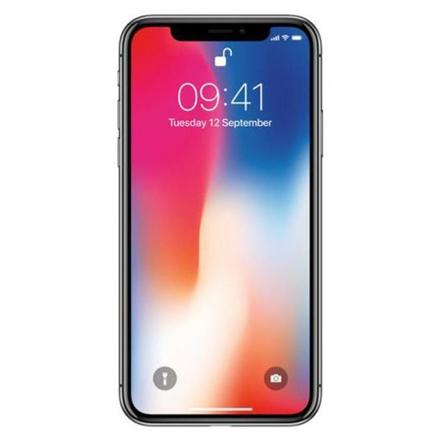 Apple - iPhone X 256 Go Gris Sidéral - iPhone 256 go