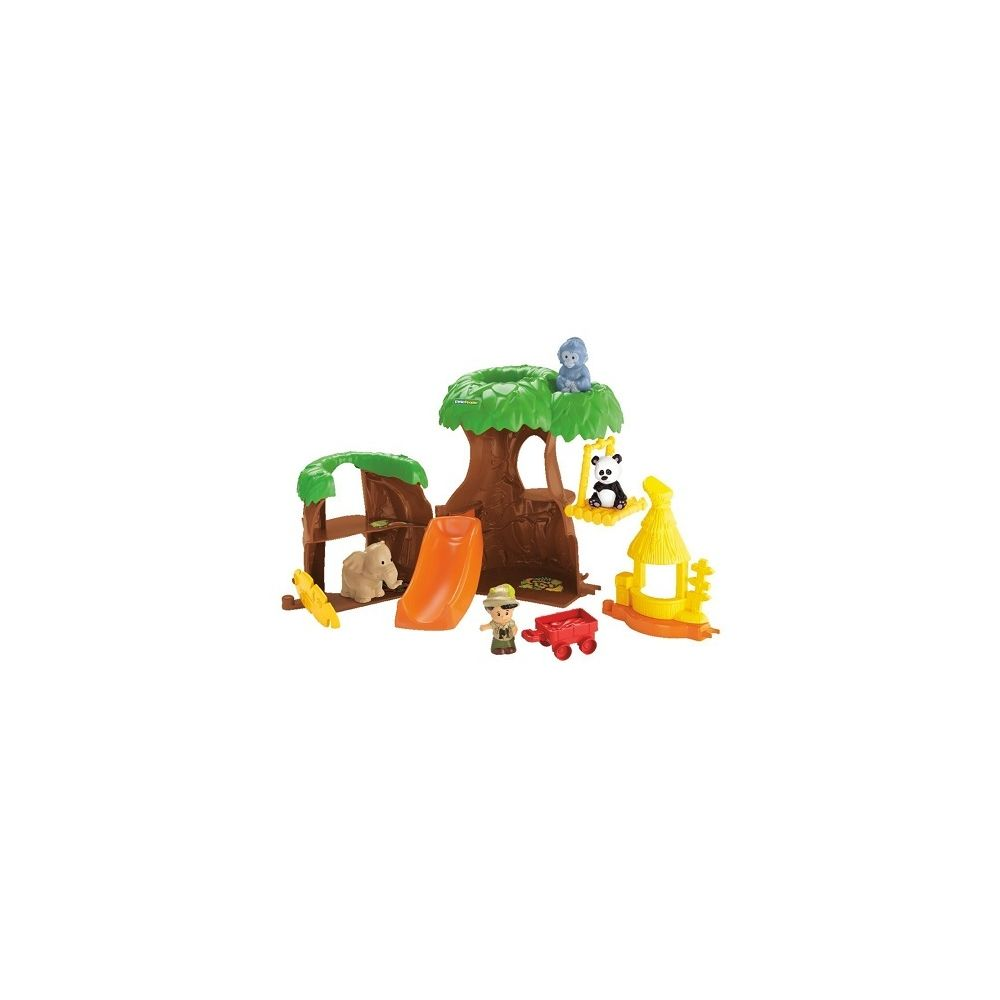 Fisher Price L'arbre maison des animaux Little People 1-5 ans - Fisher Price