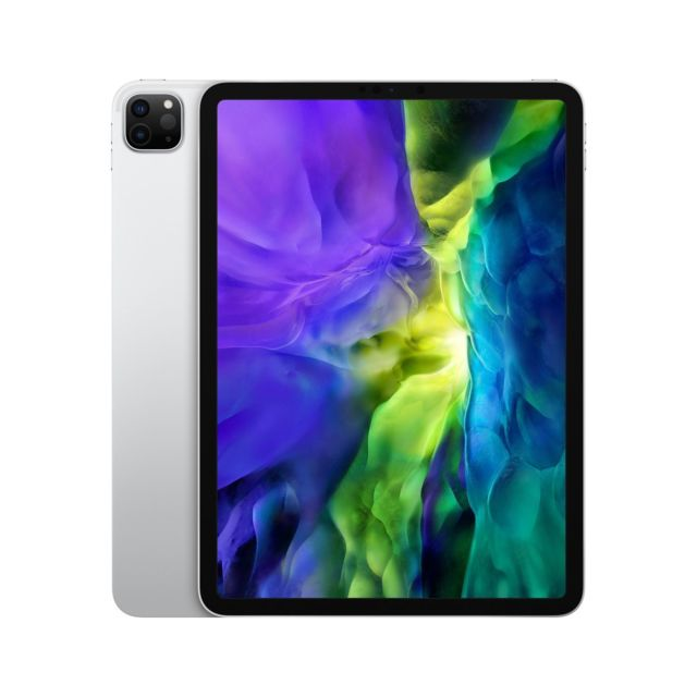 Apple - iPad Pro 2020 - 11'' - 128 Go - Wifi + Cellular - MY2W2NF/A - Argent - iPad Pro 2019